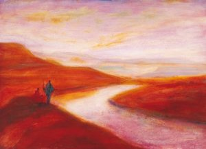 River Caledon print by Tony Hudson