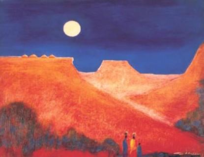 Twilight print by Tony Hudson