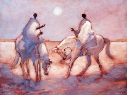 Moonlight Ride print by Tony Hudson