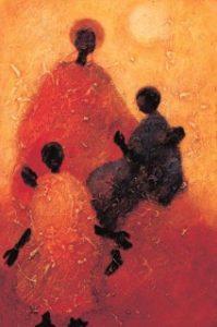 Motherhood print by Tony Hudson