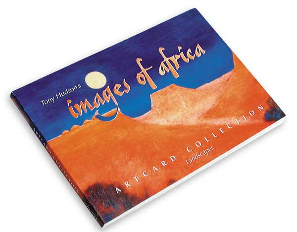 Artcard Book Images of Africa Tony Hudson
